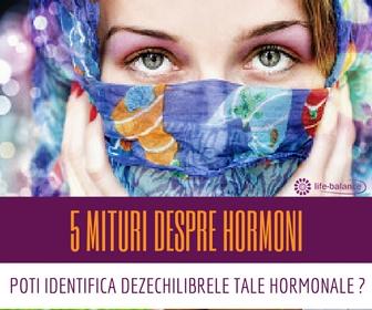 5 mituri despre hormoni