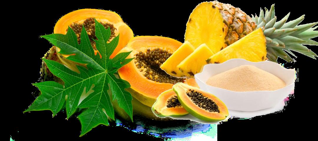 Produse naturale bogate in enzime digestive